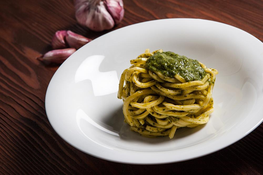 pastificio Torino Gran Madre, ricette pasta al pesto